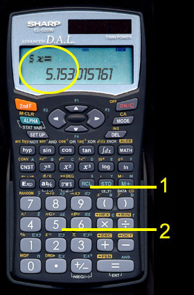 Statistical Calculations Using The Sharp El 520wb